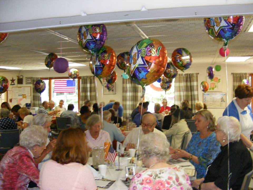 EH Senior center balloons